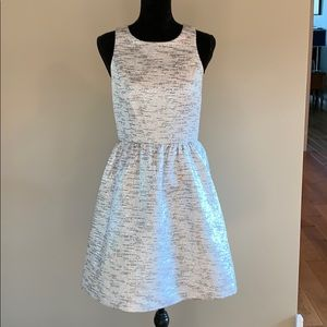 Sliver Cocktail Party Dress